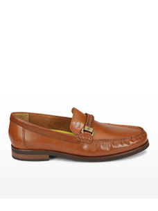 Brown Formal Slip-ons