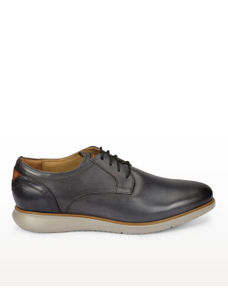 Grey Derby Shoes