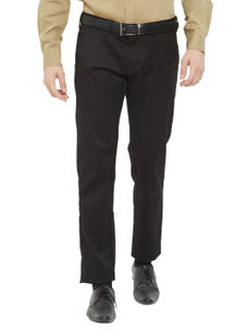 Easies(By Killer) Solid Brown Color Slim Fit Trousers