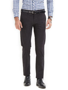 Solid Black Color Trousers