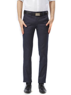 Solid Blue Color Trousers