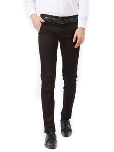 Solid Brown Color Trousers