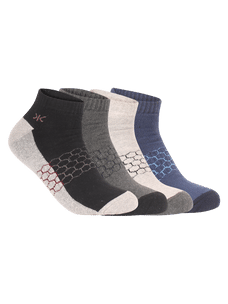 Men Pack of 4 Ankle Length Socks