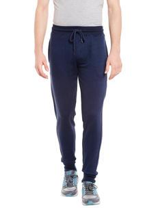 Solid Blue Color Regular Fit Track Pant