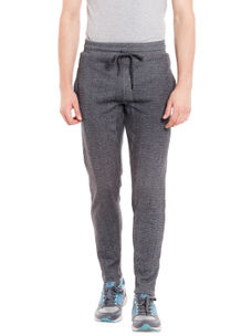 Solid Grey Color Slim Casual pant