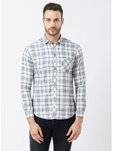 Checkered White Color Shirt