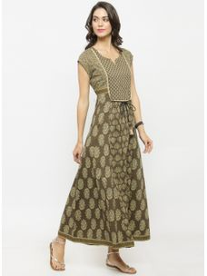 Varanga Multi Printed Dress
