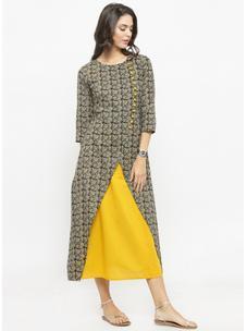 Varanga Multi Printed Dress