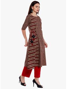 Varanga Multi Cotton Printed Kurta