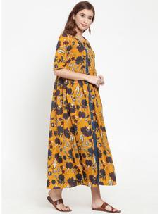 Varanga Kalamkari Printed Dress