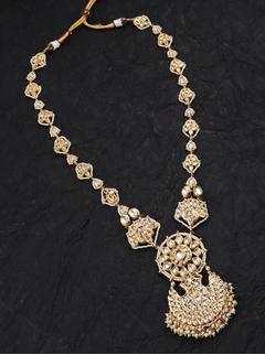 Gold Pankhi Necklace