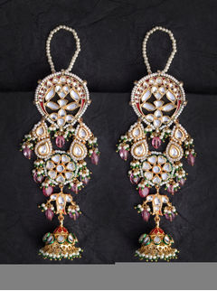 Laal Mehal Earrings