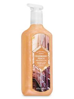 Cranberry Peach Prosecco Creamy Luxe Hand Soap
