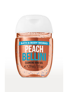 Peach Bellini PocketBac Cleansing Hand Gel