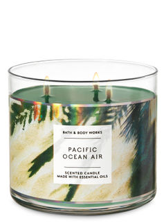 Pacific Ocean Air 3-Wick Candle