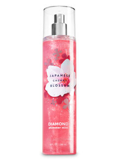 Japanese Cherry Blossom Diamond Shimmer Mist