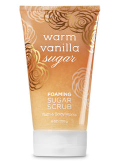 Warm Vanilla Sugar Foaming Sugar Scrub