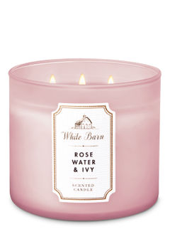 Rose Water & Ivy 3-Wick Candle