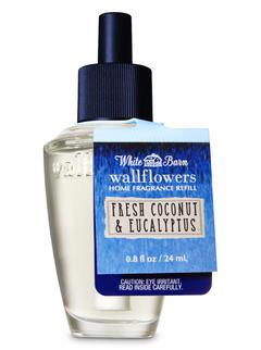 Fresh Coconut & Eucalyptus Wallflowers Fragrance Refill