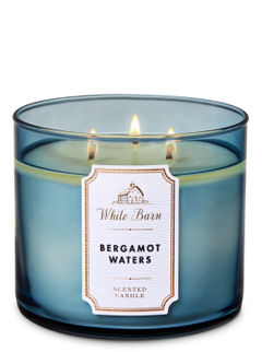 Bergamot Waters 3-Wick Candle