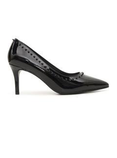 Black Patent Pointed Toe Heels