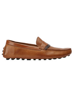 Dual Leather Moccassins