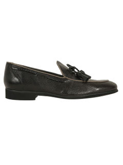 Perforated Tasseled Loafers