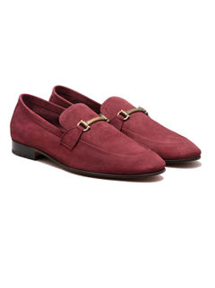 Occasion Slip-on- Maroon