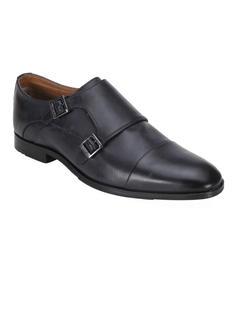 Ergotech Classic Double monk shoes - Navy