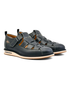 AirCube Fisherman Sandal- Black