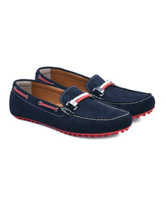 Navy Casual Slip-ons