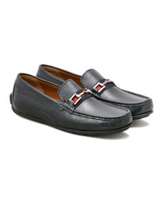 Black Casual Slip-ons