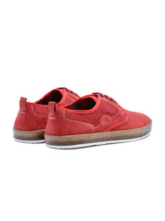 Sneakers Lace Up - Red