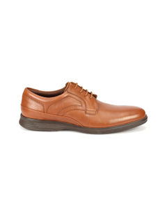 Work Lace Up - Tan