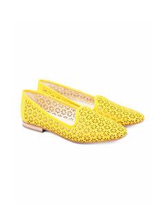 Laser cut Ballerina – Yellow