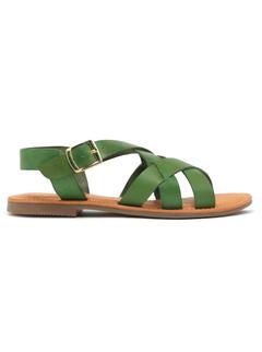 Women's Green Sandals
