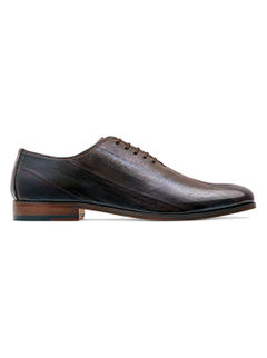 Rare Leather Occasion Lace Up – Brown