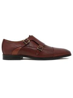 Ergotech Classic Double monk shoes - Brown