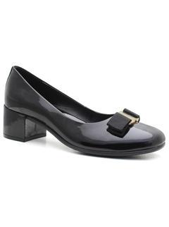 Ballerinas with heels - Black
