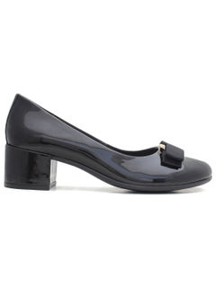 Ballerinas with heels - Black
