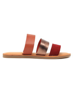 Women's Striped Sandals