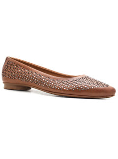 Formal Pump Ballerina Shoes- Tan