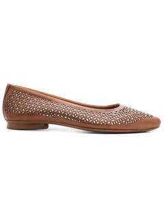 Ballerina Shoes- Tan