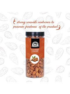 Wonderland Foods Premium Hand Picked Bold Quality Almonds - 500G