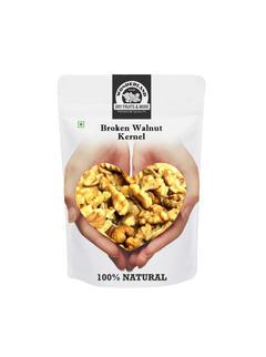 Broken Walnuts (Akhrot) Without Shell 1kg (250gm x 4)