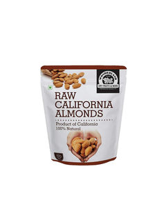Wonderland Foods Raw California Almonds, 500g