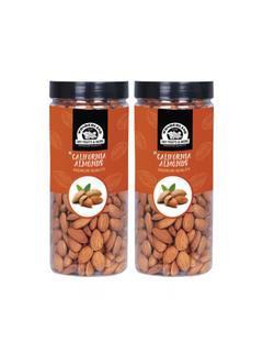 Wonderland Foods Premium Hand Picked Bold Quality Almonds - 1 KG