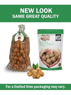Wonderland Foods California In-shell Walnuts (Akhrot with Shells Jumbo Size) -2 kg