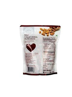 WONDERLAND FOODS  Dry Fruits Combo Pack of California Almond (500 g) and Walnut (500 g)
