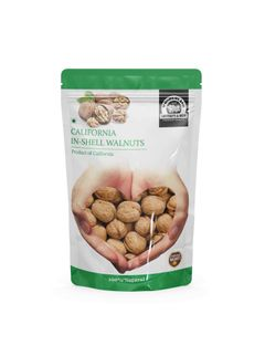 Wonderland Foods Premium California In-shell Walnuts 1 kg (Akhrot with Shells Jumbo Size)